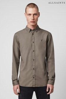 AllSaints Grey Redondo Shirt
