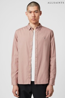 AllSaints Pink Redondo Shirt
