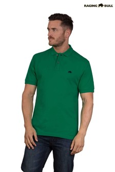 Raging Bull Green Signature Polo Top