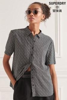 חולצה עם שרוולקצר דגםStudios שלSuperdry