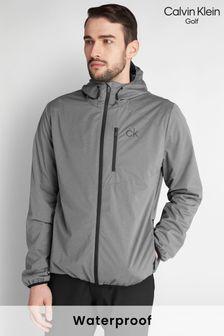 Calvin Klein Golf Grey Ultron Hooded Jacket (122522)   $111