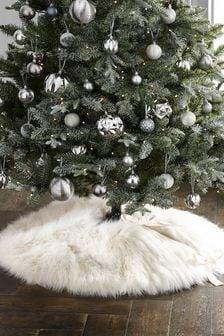 Faux Fur Tree Skirt (122882) | $43