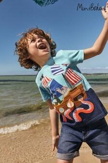 Niebieskakoszulka plażowa Boden Lift-The-Flap