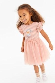 2-in-1-Kleid mit Häschendesign (3Monate bis 7Jahre)