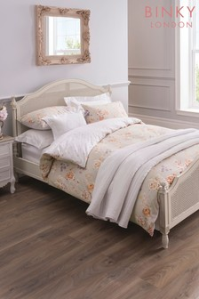 Binky Nellie Floral Cotton Duvet Cover and Pillowcase Set