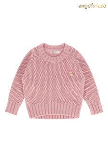 Angel's Face Pink Jumper