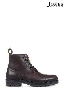 Jones Bootmaker Red Kingsbury Leather Hiking Boots