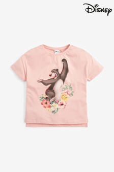 Disney™ Jungle Book Baloo Floral Licence T-Shirt (3-16yrs)
