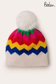 قبعة لون كريم مزركشة منBoden