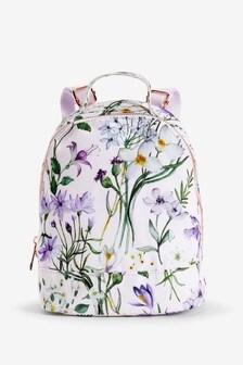 Mini Floral Rucksack