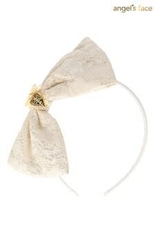 Angels Face White Gretchen Headband
