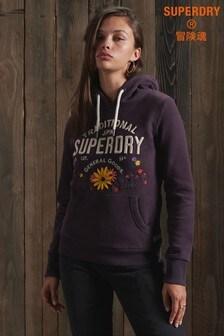Superdry Folk Floral Hoody