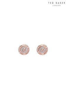 Ted Baker Eisley Enamel Mini Button Earrings