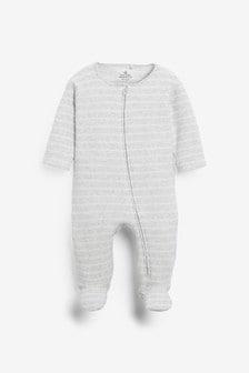 Dors-bien en tissu éponge rayé (0 mois - 2 ans)