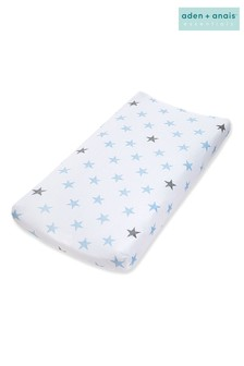 aden + anais Essentials Blue Changing Mat Cover