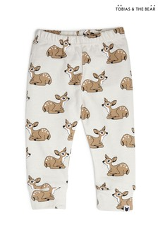 Tobias & The Bear Birch Grey Fawn Terry Joggers