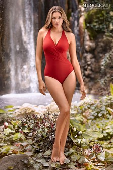 Miraclesuit® Red Wrapsody Swimsuit