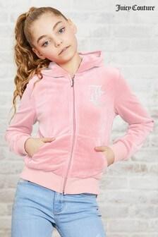 Juicy Couture Velour Zip Through Hoody