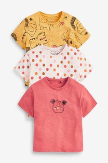 3 Pack Koala Embroidered T-Shirts (3mths-7yrs)