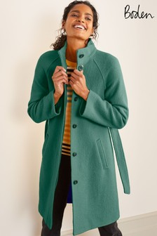 Boden 綠色 Cartwright 大衣