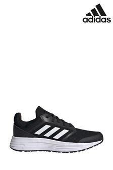 Черные/белые кроссовки adidas Galaxy