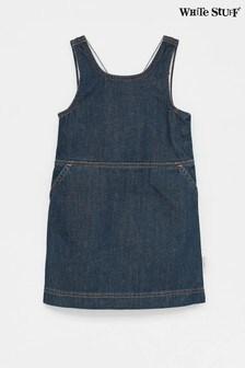 White Stuff Camille Jeans-Trägerkleid für Kinder