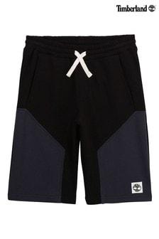 Черные шорты с логотипом Timberland®