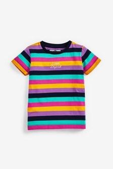 Pásikavé tričko s krátkymi rukávmi (3 mes. – 7 rok.)