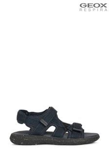 Geox Men's Goinway Blue Sandals