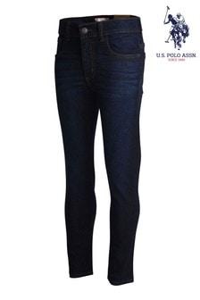 جينز أزرق تلبيس ضيق منU.S. Polo Assn