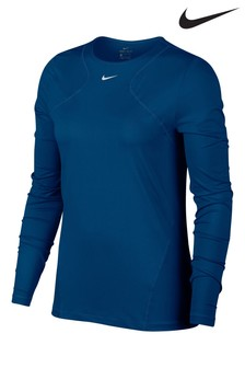 Haut manches longues en maille Nike Pro