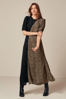 Ruched Midi Dress (132050) | $52