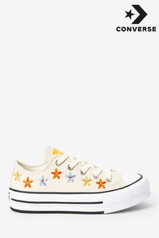 Converse Flowers Lift Junior Trainers