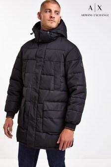 Armani Exchange Longline Padded Jacket
