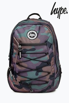Hype. Camo Maxi Backpack