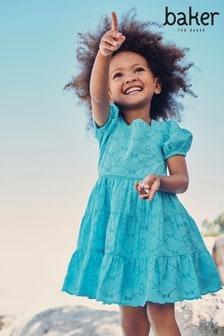 فستان أزرق مطرز منBaker by Ted Baker