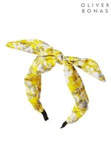 Oliver Bonas Jasper Ditsy Floral Wire Bow Headband