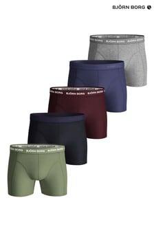 Bjorn Borg Sammy Seasonal Solids Shorts, Grün