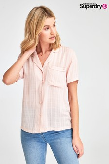 Superdry Pink Check Shirt