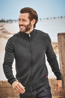 Luxusní svetr na zip