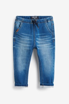 Super Soft Pull-On Jeans With Stretch (3 meses-7 años)