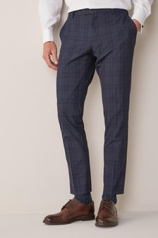 Skinny Fit Check Suit