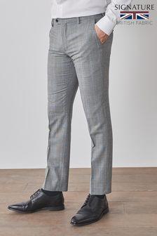 Signature Empire Mills Fabric Slim Fit Suit