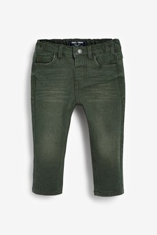 Slim Fit Jersey Denim 5 Pocket Jeans (3mths-7yrs)