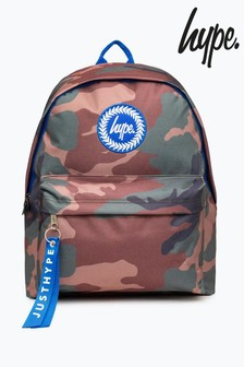 Hype. Camo Backpack