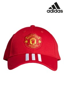 adidas Red Manchester Untied Kids Cap