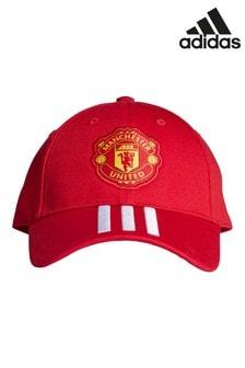 adidas Manchester United Kindermütze, rot