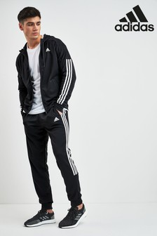 adidas Black Game Time Tracksuit