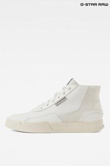 G-Star Cream Rackam Revend Mid Sneakers