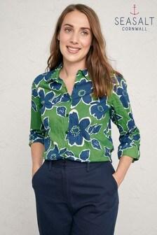 חולצה ירוקה דגם Larissa של Seasalt
